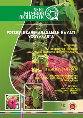 Potensi Keanekaragaman Hayati Yogyakarta | Seri Mimbar Akademik #5