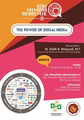 The Power of Social Media | Seri Mimbar Akademik #8
