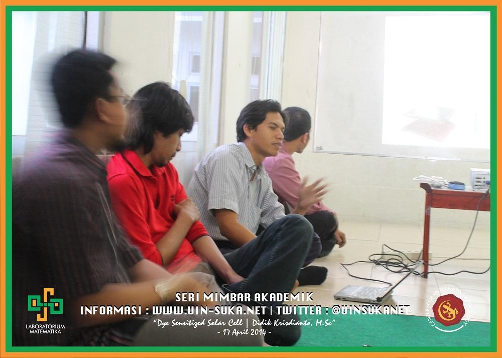 Seri Mimbar Akademik Photo 10- Center for Integrative Zoology with Laboratorium Matematika UIN Sunan Kalijaga
