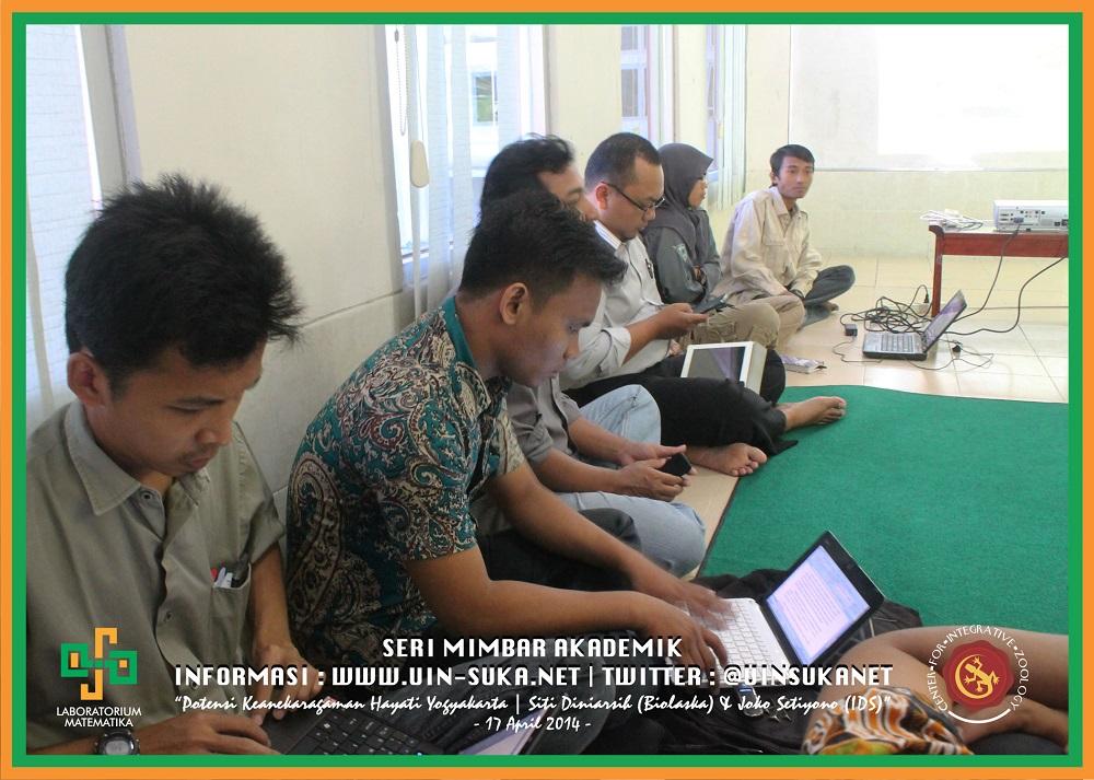 Seri Mimbar Akademik Photo 13- Center for Integrative Zoology with Laboratorium Matematika UIN Sunan Kalijaga