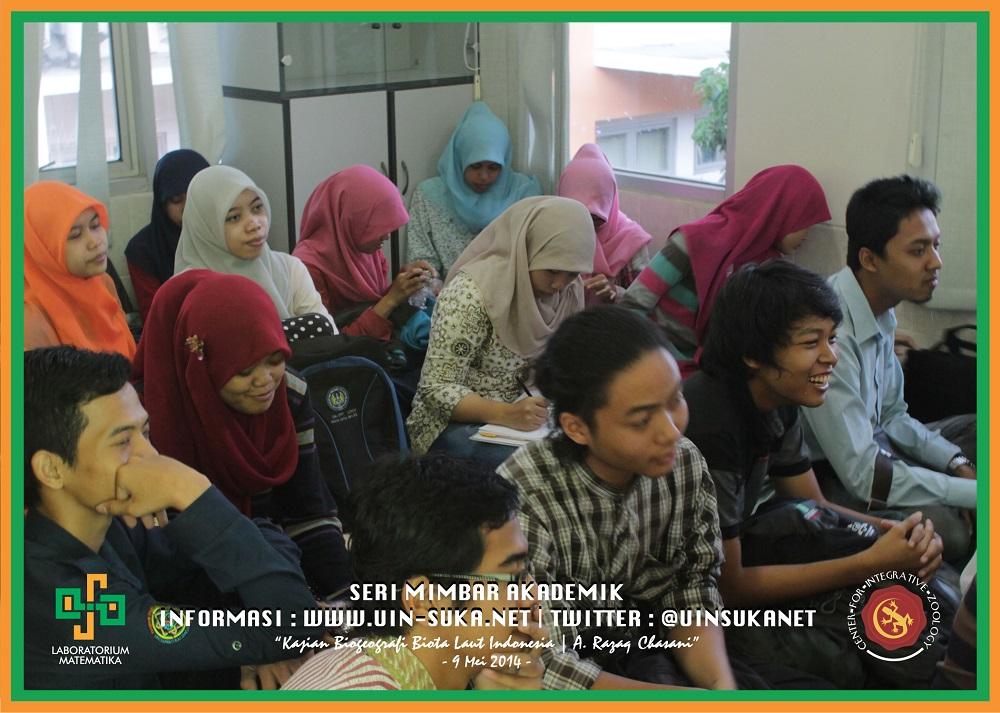 Seri Mimbar Akademik Photo 14- Center for Integrative Zoology with Laboratorium Matematika UIN Sunan Kalijaga