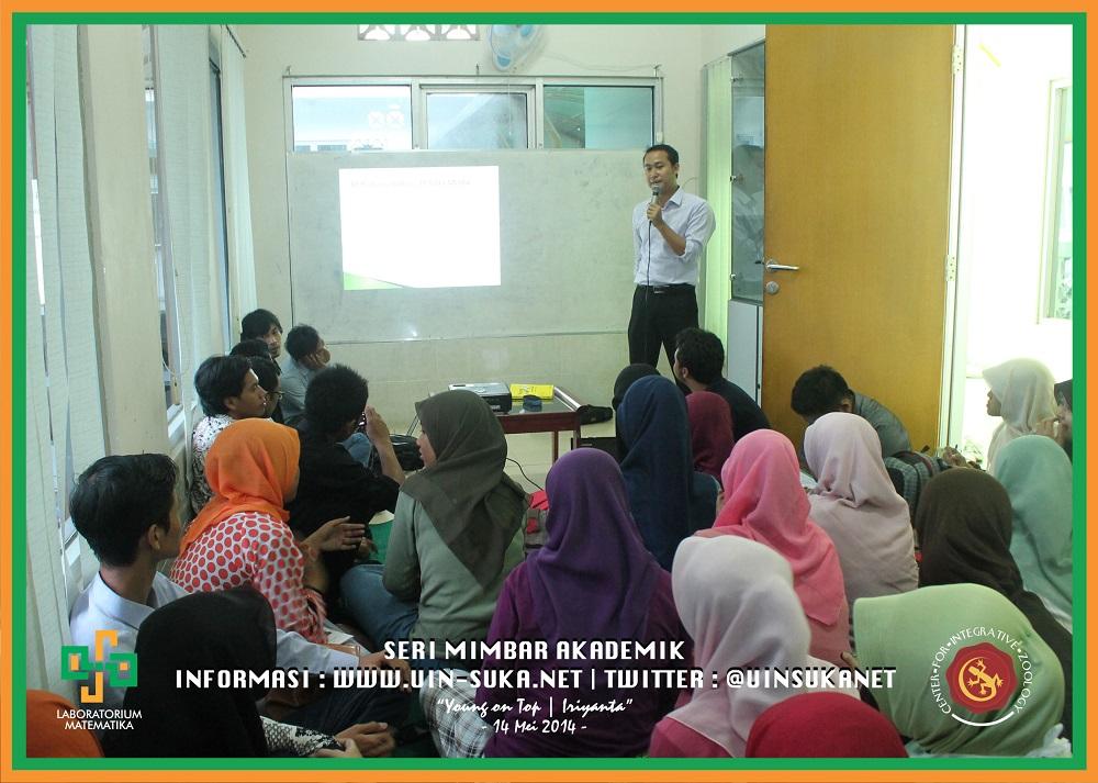Seri Mimbar Akademik Photo 30 – Center for Integrative Zoology with Laboratorium Matematika UIN Sunan Kalijaga