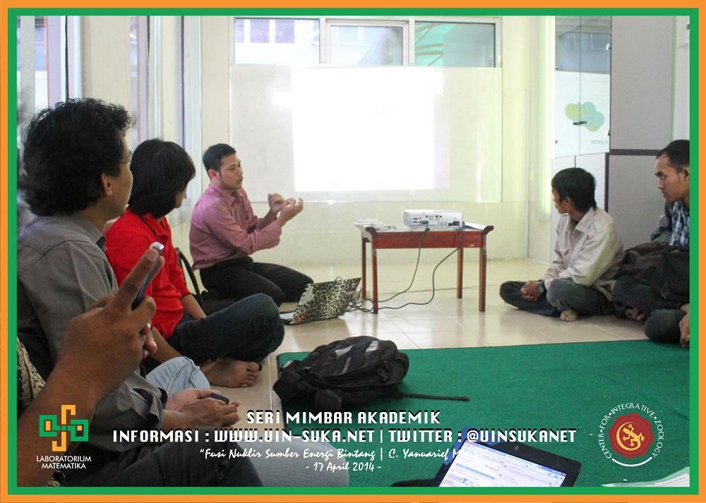 Seri Mimbar Akademik Photo 9- Center for Integrative Zoology with Laboratorium Matematika UIN Sunan Kalijaga