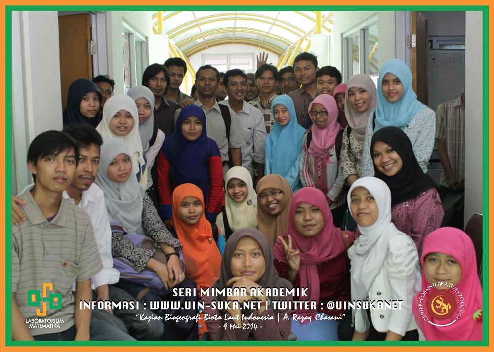 Seri Mimbar Akademik Photo - Center for Integrative Zoology with Laboratorium Matematika UIN Sunan Kalijaga