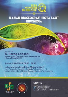 Kajian Biogeografi Biota Laut Indonesia | Seri Mimbar Akademik #11