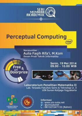 Perceptual Computing Intel® | Seri Mimbar Akademik #15