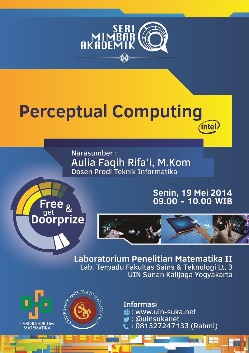 seri mimbar akademik perceptual computing intel - uin-suka net - laboratorium matematika - center for integrative zoology