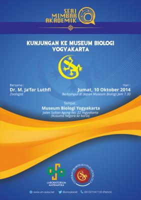 Kunjungan Museum Biologi Yogyakarta - Dr. M. Jafar Luthfi | Seri Mimbar Akademik #20