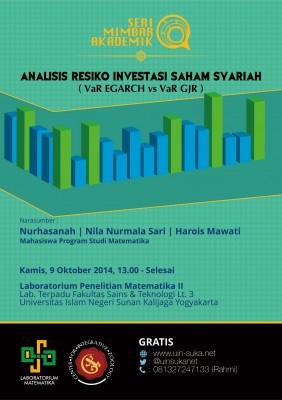 Analisis Resiko Investasi Saham Syariah - VaR EGARCH vs VaR GJR | Seri Mimbar Akademik #19
