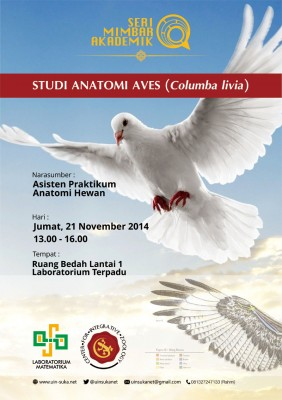 Studi Anatomi Aves (Columba livia) | Seri Mimbar Akademik #24
