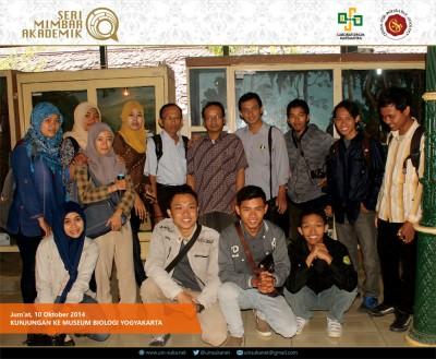 Foto Seri Mimbar Akademik | Museum Biologi Yogyakarta - 10 Oktober 2014
