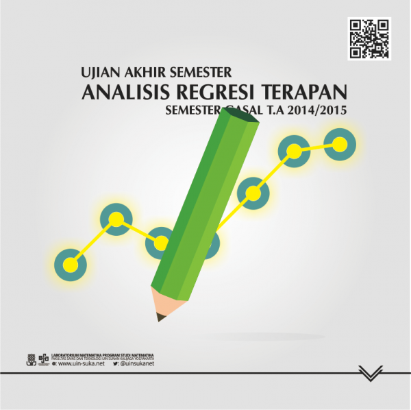 Soal Ujian Akhir Semester - Analisis Regresi Terapan - Gasal 2014/2015
