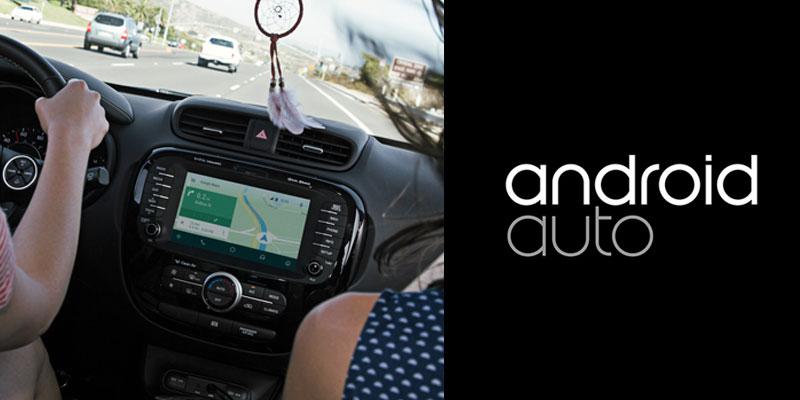 Android Auto menyetir