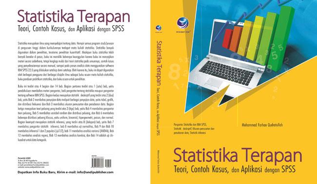 cover buku Statistika Terapan – Teori, Contoh Kasus dan Aplikasi dengan SPSS
