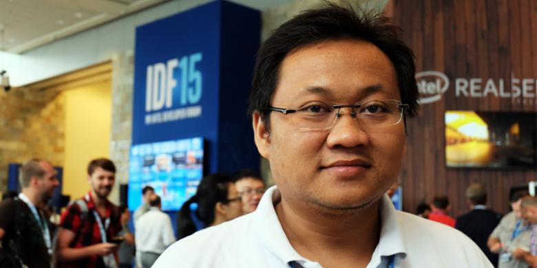 Aulia Faqih Rifai penerima Intel Black Belt dari Indonesia (Photo via Reska K. Nistanto-KOMPAScom)