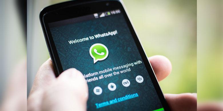 Aplikasi Whatsapp ( Image via Shutterstock )