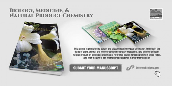 Jurnal Biology, Medicine, & Natural Product Chemistry