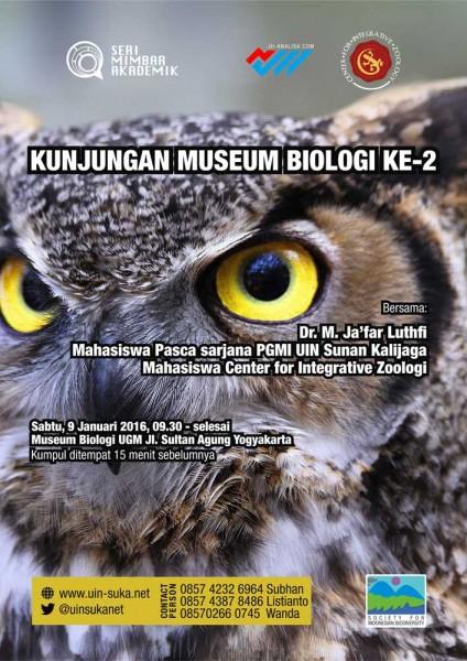 Kunjungan Museum Biologi UGM - Seri Mimbar Akademik #38