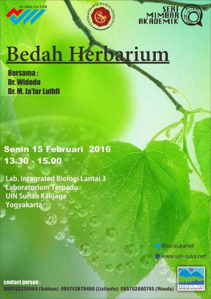 Bedah Herbarium - Seri Mimbar Akademik #48