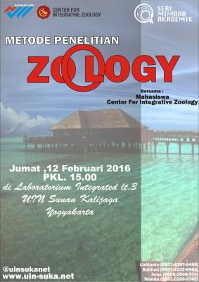 Metode Penelitian Zoology - Seri Mimbar Akademik #47