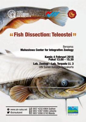 Fish Dissection: Teleostei - Seri Mimbar Akademik #41