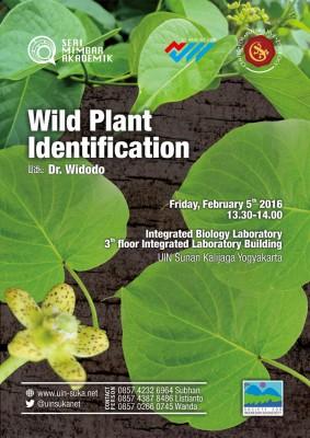 Wild Plant Identification - Seri Mimbar Akademik #42