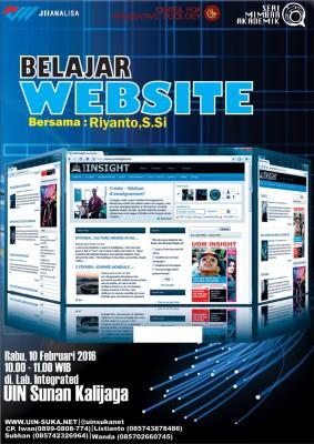 Belajar website - Seri Mimbar Akademik #44