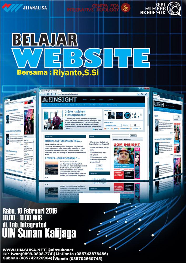 Seri Mimbar Akademik #44 - Belajar Website