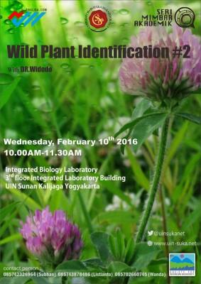 Wild Plant Identification (part 2) - Seri Mimbar Akademik #45