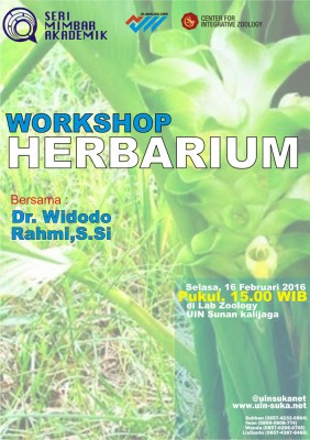 Workshop Herbarium - Seri Mimbar Akademik #49
