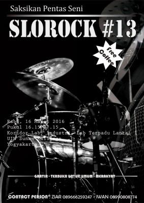 Pentas Seni Slorock #13