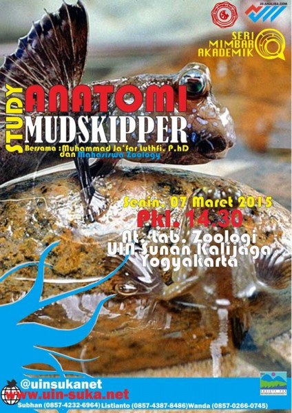 Studi Anatomi Mudskipper - Seri Mimbar Akademik #53