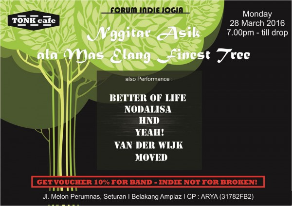 Forum Indie Jogja - Tonk Cafe
